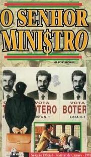 O Senhor Ministro - Poster / Capa / Cartaz - Oficial 1