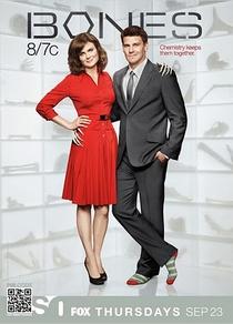 Bones (6ª Temporada) - Poster / Capa / Cartaz - Oficial 1