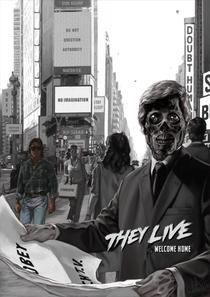 Eles Vivem - Poster / Capa / Cartaz - Oficial 3