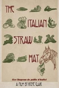 Un chapeau de paille d'Italie - Poster / Capa / Cartaz - Oficial 1