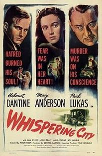 Whispering City - Poster / Capa / Cartaz - Oficial 1