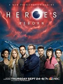 Heroes Reborn  - Poster / Capa / Cartaz - Oficial 1
