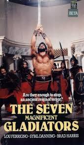 Os Sete Magníficos Gladiadores - Poster / Capa / Cartaz - Oficial 3