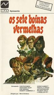 Os Sete Boinas Vermelhas - Poster / Capa / Cartaz - Oficial 1