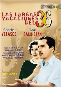 Las largas vacaciones del 36 - Poster / Capa / Cartaz - Oficial 1