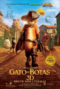 Gato de Botas - Poster / Capa / Cartaz - Oficial 2