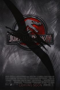 Jurassic Park III - Poster / Capa / Cartaz - Oficial 1