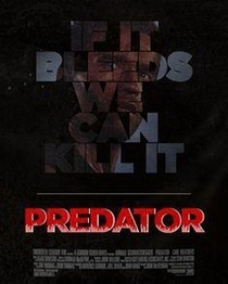 If It Bleeds We Can Kill It: The Making of 'Predator' - Poster / Capa / Cartaz - Oficial 1