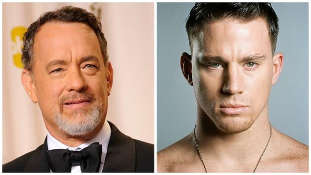 Splash | Tom Hanks disse estar interessado em fazer par romântico com Channing Tatum