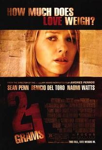 21 Gramas - Poster / Capa / Cartaz - Oficial 3