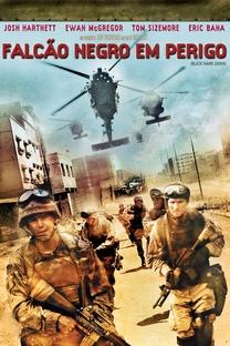 Falcão Negro em Perigo - Poster / Capa / Cartaz - Oficial 5