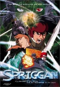 Spriggan - Poster / Capa / Cartaz - Oficial 1