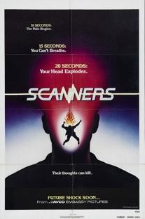 Scanners - Sua Mente Pode Destruir - Poster / Capa / Cartaz - Oficial 4