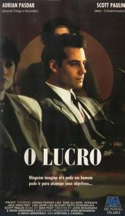 O Lucro - Poster / Capa / Cartaz - Oficial 1