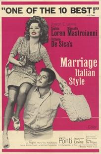 Matrimônio à italiana - Poster / Capa / Cartaz - Oficial 5