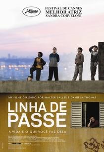 Linha de Passe - Poster / Capa / Cartaz - Oficial 1