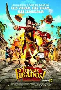 Piratas Pirados! - Poster / Capa / Cartaz - Oficial 6