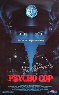 Psycho Cop - Ninguém Está em Segurança - Poster / Capa / Cartaz - Oficial 1