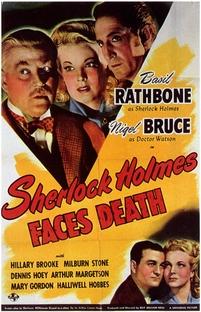 Sherlock Holmes Enfrenta a Morte - Poster / Capa / Cartaz - Oficial 1