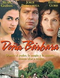 Dona Bárbara - Poster / Capa / Cartaz - Oficial 1