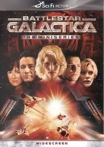 Battlestar Galactica (Minisserie) - Poster / Capa / Cartaz - Oficial 2