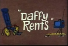 Patolino, o Salvador (Daffy Rents)