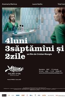 4 Meses, 3 Semanas e 2 Dias - Poster / Capa / Cartaz - Oficial 13