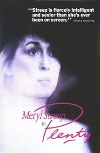 Plenty - O Mundo de Uma Mulher - Poster / Capa / Cartaz - Oficial 2