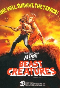 Attack of the Beast Creatures - Poster / Capa / Cartaz - Oficial 3