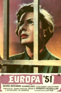 Europa '51 - Poster / Capa / Cartaz - Oficial 2