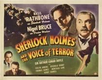 Sherlock Holmes e a Voz do Terror - Poster / Capa / Cartaz - Oficial 4