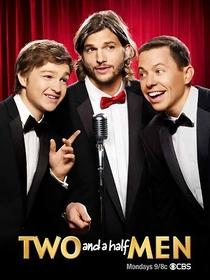 Dois Homens e Meio (9ª Temporada) - Poster / Capa / Cartaz - Oficial 1