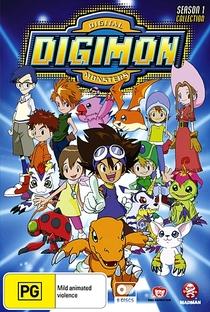 Digimon (1ª Temporada) - Poster / Capa / Cartaz - Oficial 3