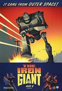 O Gigante de Ferro - Poster / Capa / Cartaz - Oficial 8