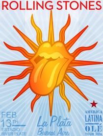 Rolling Stones - La Plata 2016 (3rd Night) - Poster / Capa / Cartaz - Oficial 1