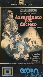 Assassinato por Decreto - Poster / Capa / Cartaz - Oficial 2