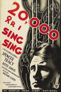 20.000 Anos em Sing Sing - Poster / Capa / Cartaz - Oficial 3