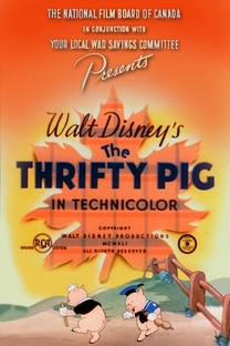 The Thrifty Pig - Poster / Capa / Cartaz - Oficial 1