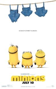 Minions - Poster / Capa / Cartaz - Oficial 3