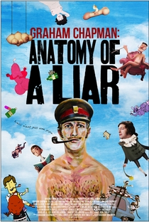 Graham Chapman: Anatomy of a Liar. - Poster / Capa / Cartaz - Oficial 1