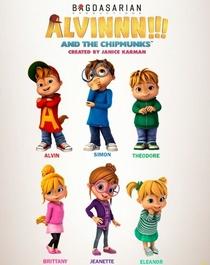 Alvinnn!!! E Os Esquilos  - Poster / Capa / Cartaz - Oficial 2