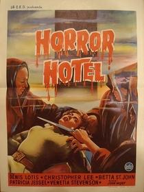 Horror Hotel - Poster / Capa / Cartaz - Oficial 2