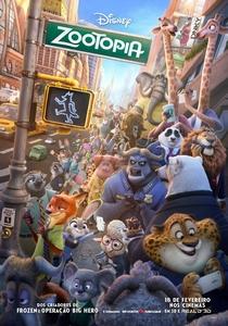 Zootopia: Essa Cidade é o Bicho - Poster / Capa / Cartaz - Oficial 1