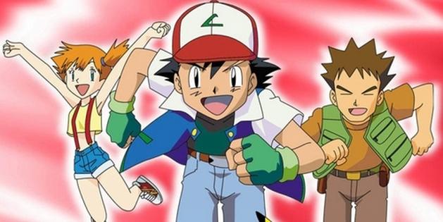 Pokémon: primeira temporada no site oficial