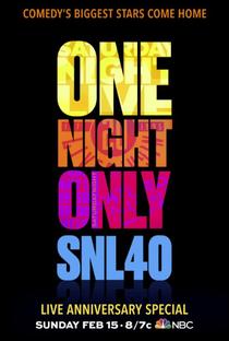 Saturday Night Live 40th Anniversary Special - Poster / Capa / Cartaz - Oficial 1