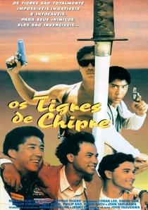 Os Tigres de Chipre - Poster / Capa / Cartaz - Oficial 1
