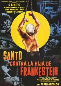 Santo vs. la Hija de Frankestein - Poster / Capa / Cartaz - Oficial 1
