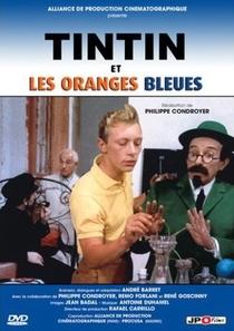 Tintim e as Laranjas Azuis  - Poster / Capa / Cartaz - Oficial 3