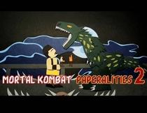 Mortal Kombat 2 Paperalities - Poster / Capa / Cartaz - Oficial 1