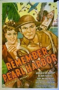Remember Pearl Harbor - Poster / Capa / Cartaz - Oficial 1
